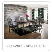 COS-DAREN DINING SET (1+6)